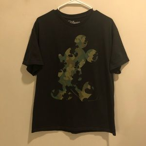 Disney Mickey Mouse Graphic t shirt black